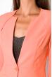 Пиджак женский приталенный 150P020 персиковый