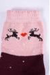 Носки  168P112 junior сливово-розовый