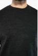 Джемпер однотонный 604F001 грифельный