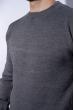 Джемпер однотонный 604F001 серый