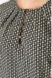 Блузка женская 81P0117 крем-черный