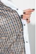 Куртка женская с бантом на поясе сзади 69PD590 белый
