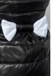 Куртка женская с бантом на поясе сзади 69PD590 черный