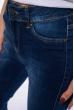 Джинсы женские потертые 120POS3007 темно-синий