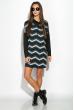 Платье 120PBI8054 серо-синий