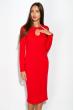 Платье 110P842 красный