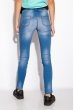 Джинсы женские 518F008 голубой варенка