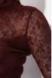 Гольф женский с перфорацией  131V003 сливовый