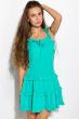 Легкое летнее платье 103P003 бирюзовый
