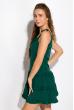 Легкое летнее платье 103P003 изумрудный
