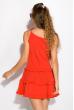 Легкое летнее платье 103P003 красный