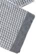 Комплект мужской шарф, шапка с декорированием 65P3537 серо-белый