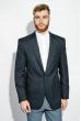 Пиджак мужской стильный 409F003 темно-синий
