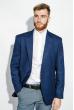 Пиджак мужской стильный 409F003 синий