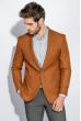 Пиджак мужской стильный 409F003 кирпичный