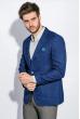 Пиджак мужской стильный 409F003 индиго