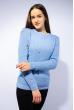 Свитер женский 120PVA1011 голубой
