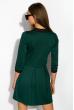 Платье 110P362 бутылочный