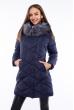 Куртка женская 120PSKL18023 темно-синий