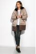 Куртка женская 127P004 бежево-коричневый