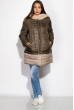 Куртка женская 127P004 оливково-бежевый