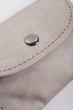 Клатч женский пастельных оттенков 000K081 светло-серый