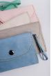 Клатч женский пастельных оттенков 000K081 розовый
