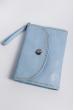 Клатч женский пастельных оттенков 000K081 голубой
