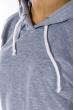 Костюм спортивный, однотонный  78PD5071 серый меланж