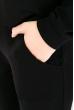 Костюм спортивный, однотонный  78PD5071 черный