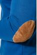 Пуловер мужской V-образный вырез 415F011 синий