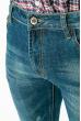 Джинсы мужские в стиле Casual 350V001 темно-синий