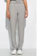Однотонный спортивный костюм 120PMB1423 светло-серый меланж