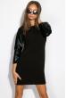 Платье 110P383-1 черный