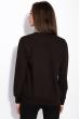 Свитшот женский с надписью на груди 120PKL016 черный