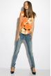 Блуза женская 118P034 оранжевый