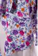 Пиджак и блуза 120P017 сиренево-малиновый