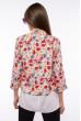 Пиджак и блуза 120P017 кораллово-серый