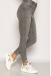 Джинсы женские со стразами 134P1033 серый