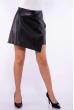 Женская юбка из экокожи 176P003 черный