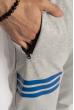 Брюки спортивные 621F010 светло-серый меланж