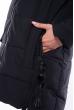 Женская приталеная куртка 120PSKL4952 черный
