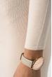 Платье женское приталенное, длинное 275V001 персиковый