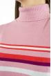Гольф трехцветный  618F152 розовый