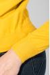 Свитшот женский с оригинальным рисунком 222V001 горчичный