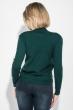 Свитшот женский с оригинальным рисунком 222V001 зеленый