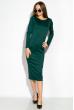 Платье 110P020 темно-зеленый