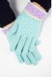 Перчатки  202P006 мятный
