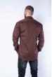 Рубашка с принтом 644f012 коричневый