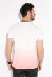 Футболка мужская с градиентом 516F128 молочно-розовый